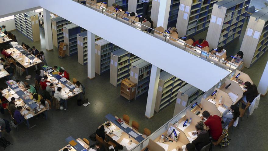 Biblioteca de Humanidades María Moliner.