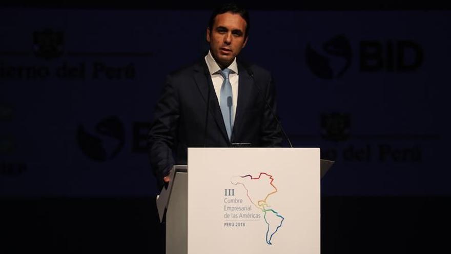 El ministro reafirma a Ecuador como país de paz durante la Cumbre de las Américas
