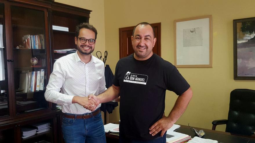 Jordi Pérez y Rayco Jesús Paz.