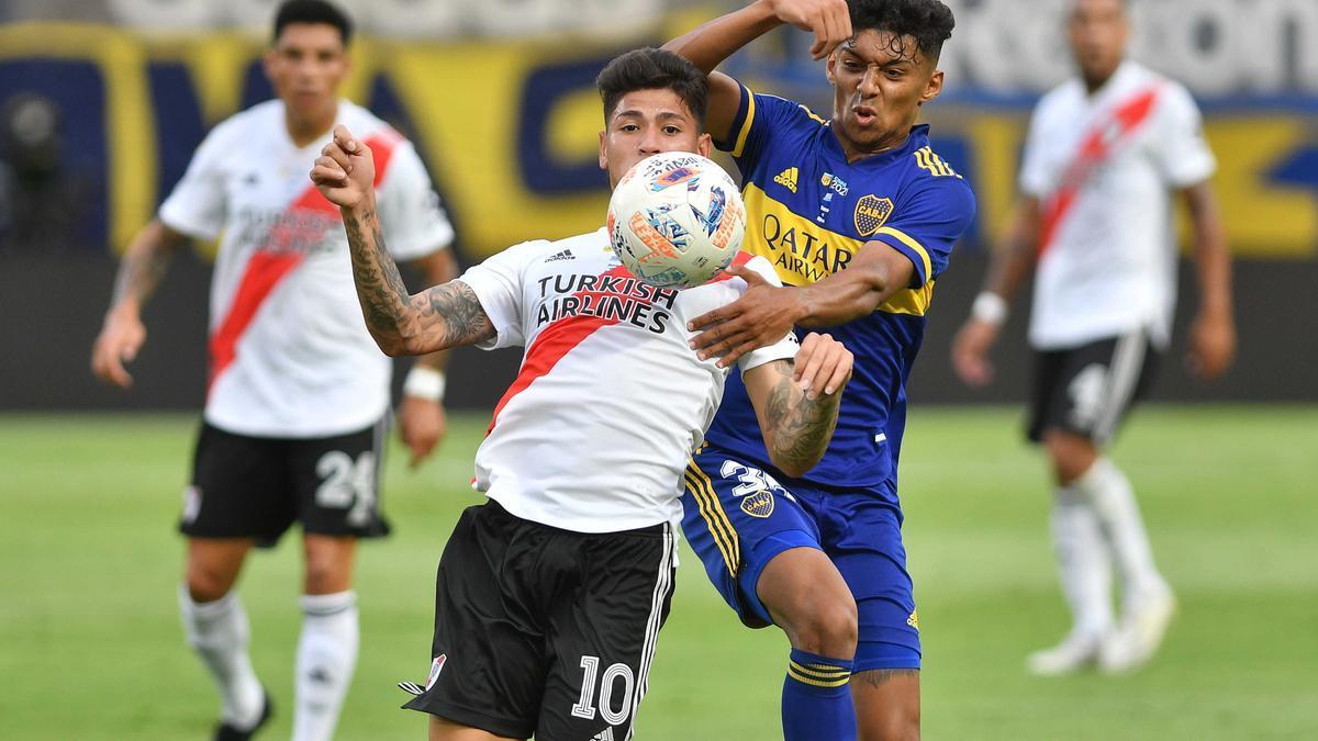 Boca y River empataron, sin público, en un partido que no hará historia