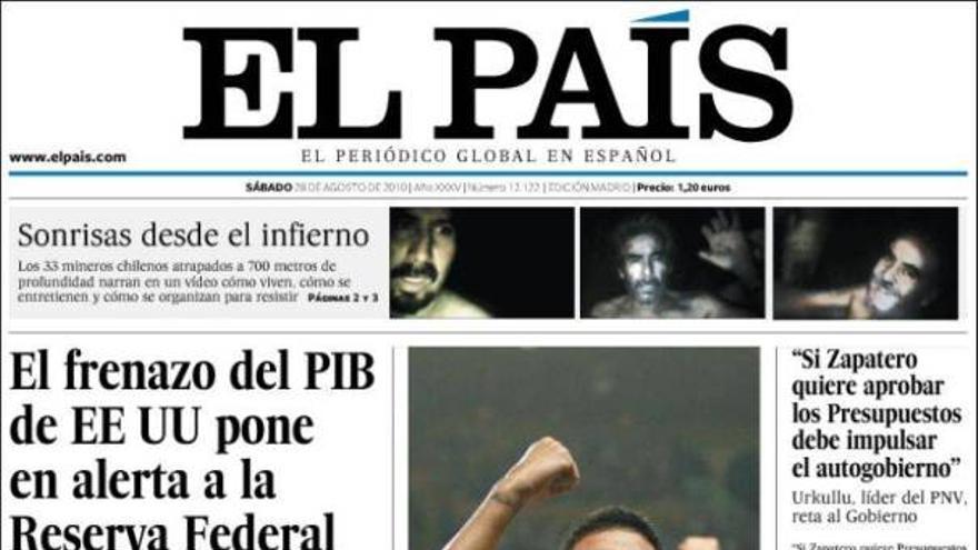De las portadas del día (28/08/2010) #7