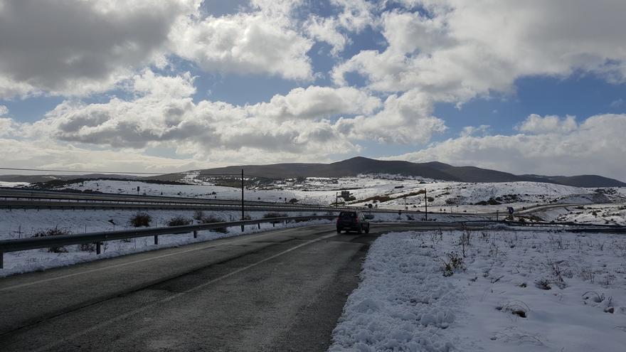 """Octubre fue un mes frío y húmedo en Cantabria y registró un temporal de nieve """"extraordinario"""""""