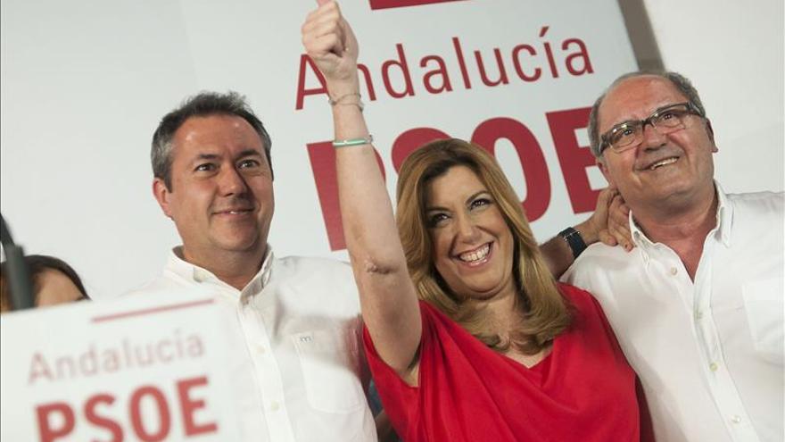 La Ejecutiva del PSOE de Andalucía analiza los resultados electorales
