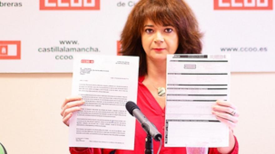 Carta de Comisiones Obreras Castilla-La Mancha al Parlamento Europeo / Foto: CCOO