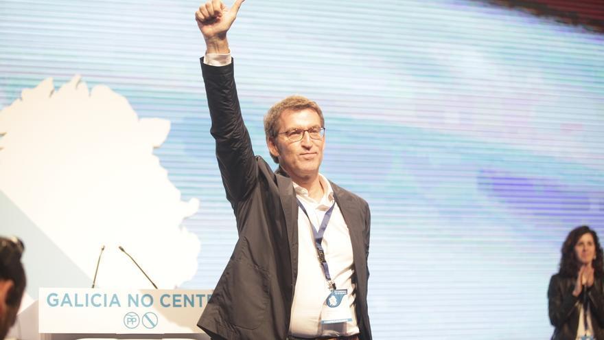 Feijóo revalida su liderazgo con un apoyo del 97,8% y queda proclamado candidato del PPdeG a la Xunta