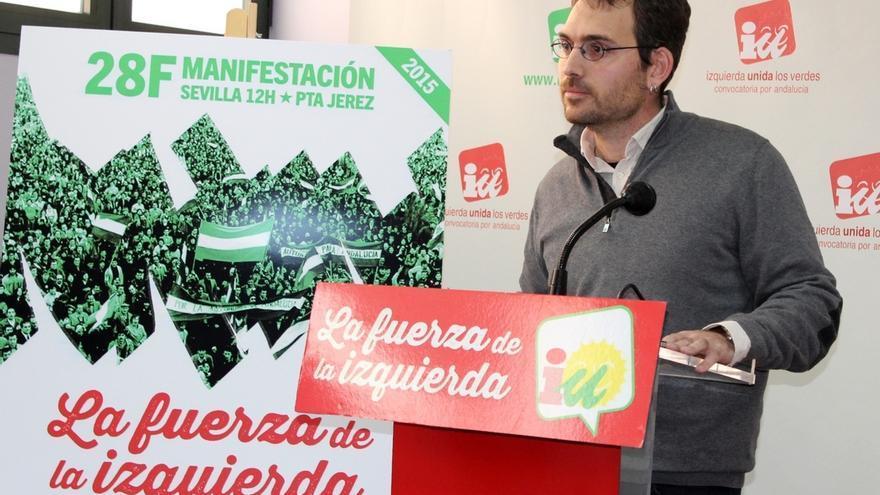 """IU llama a la movilización el 28F en Sevilla para """"abrir un verdadero escenario de transformación social"""""""