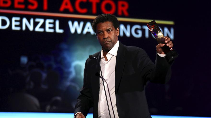 Denzel Washington, reconocido como Mejor actor por 'Fences'