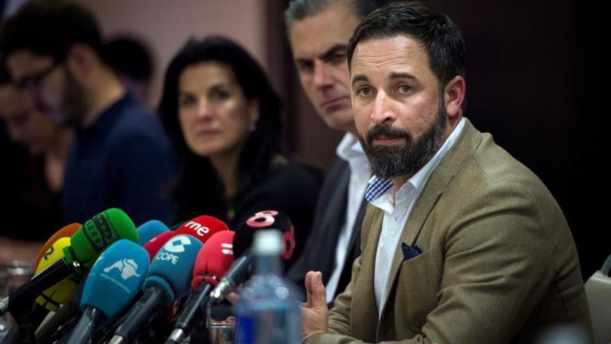 Santiago Abascal, líder del partido de extrema derecha Vox