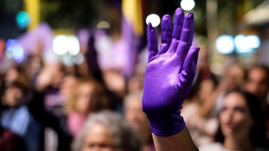 Manifestación contra la violencia machista. EFE/Ángel Medina G./Archivo
