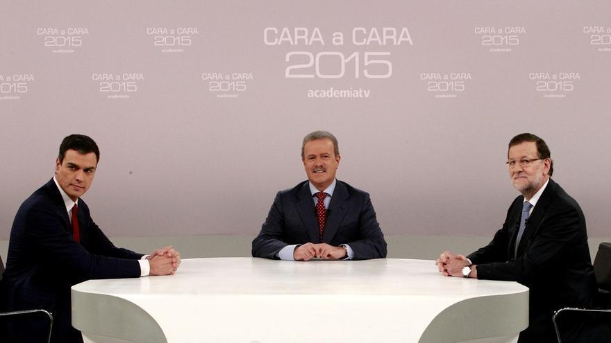 Sánchez comienza reprochando a Rajoy su ausencia de otros debates y éste se centra en la creación de empleo