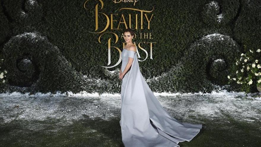 """""""La bella y la bestia"""" se anota el séptimo mejor debut de la historia en EE.UU."""