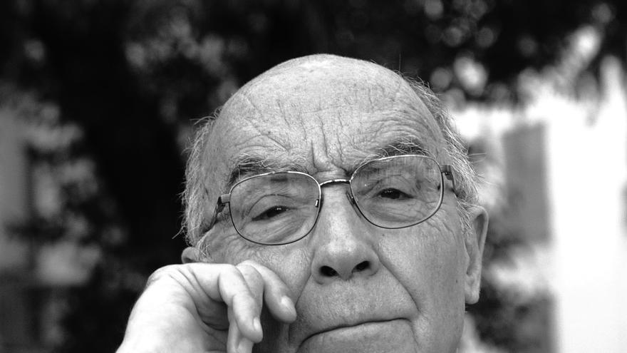 El Premio Nobel de Literatura José Saramago