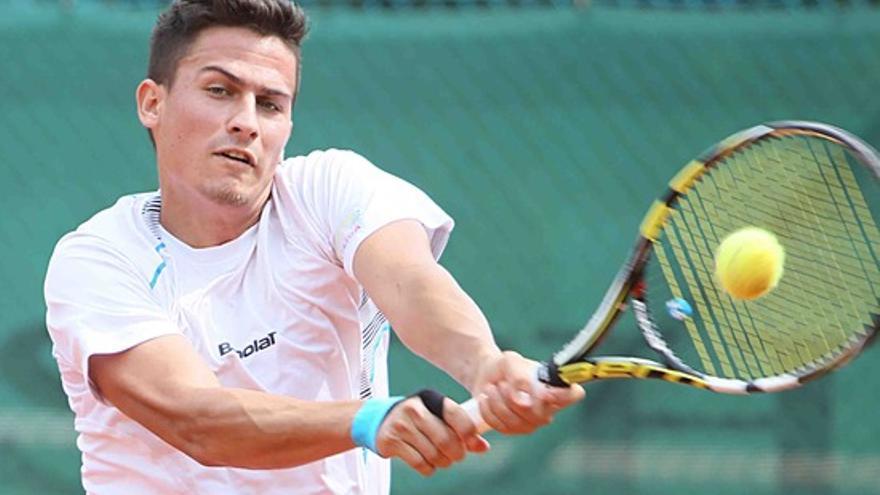 Attila Balazs, jugador húngaro que ha ganado la Copa del Rey de tenis 2017
