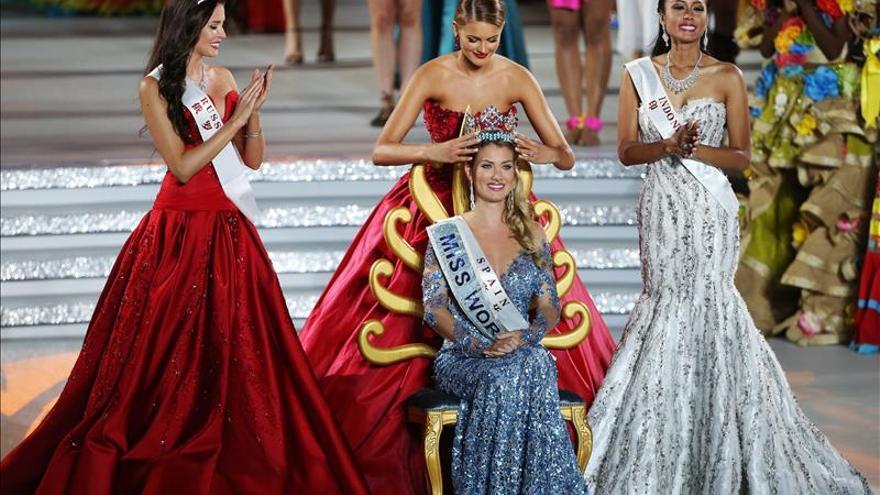 Mireia Lalaguna da a España el primer título de Miss Mundo de su Historia