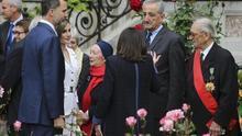 Los reyes homenajean en París a los republicanos españoles de La Nueve, ignorados en España