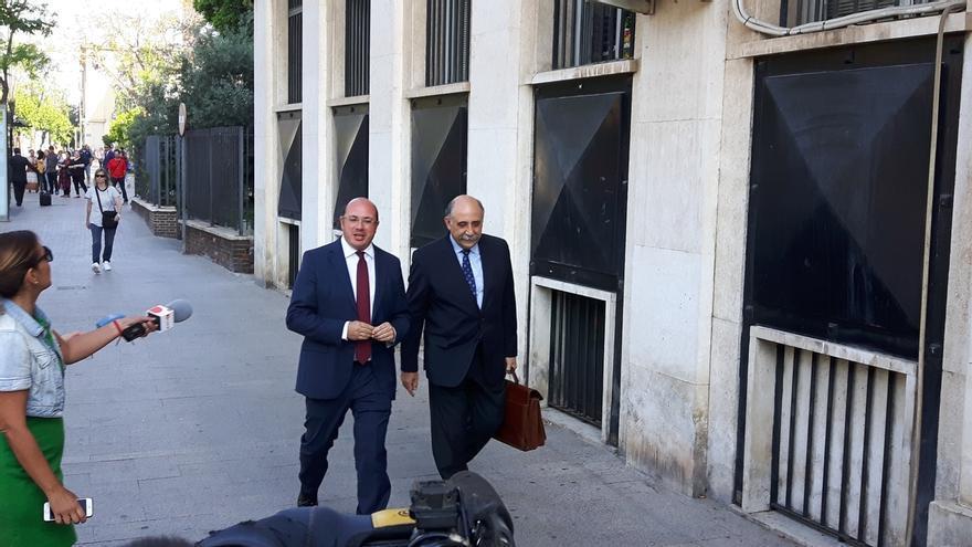 Pedro Antonio Sánchez defiende que nunca contrató con empresas de Púnica, pero admite una reunión