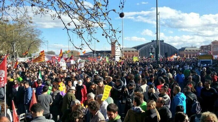 IU y la CGT avanzan su apoyo a las nuevas 'Marchas de la Dignidad' previstas para el 29 de noviembre