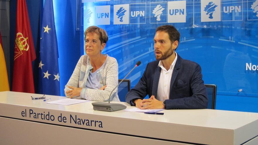 """UPN califica de """"lento, adormilado e inoperante"""" al nuevo Gobierno de Navarra"""