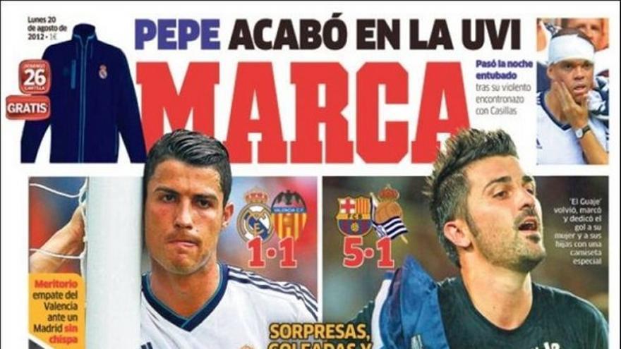 De las portadas del día (20/08/2012) #10