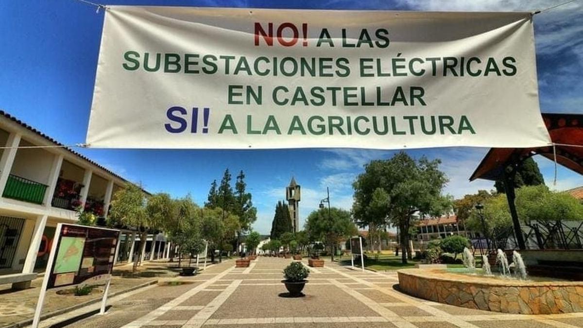 Protestas en los pueblos de Cádiz por la instalación masiva de plantas fotovoltaicas