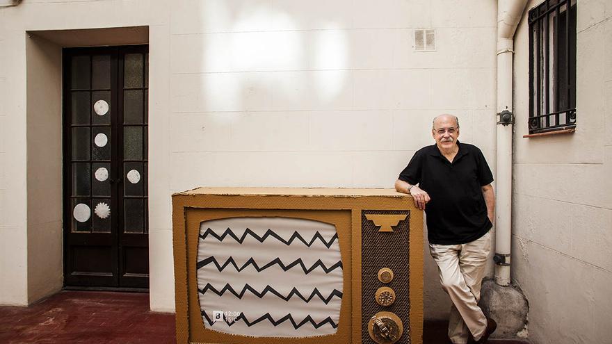 El crítico televisivo Ferran Monegal. /CARMEN SECANELLA