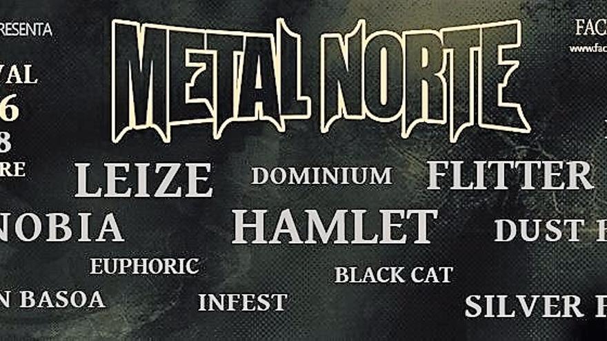 Metal norte, sala Niessen de Errenteria 7 y 8 de octubre