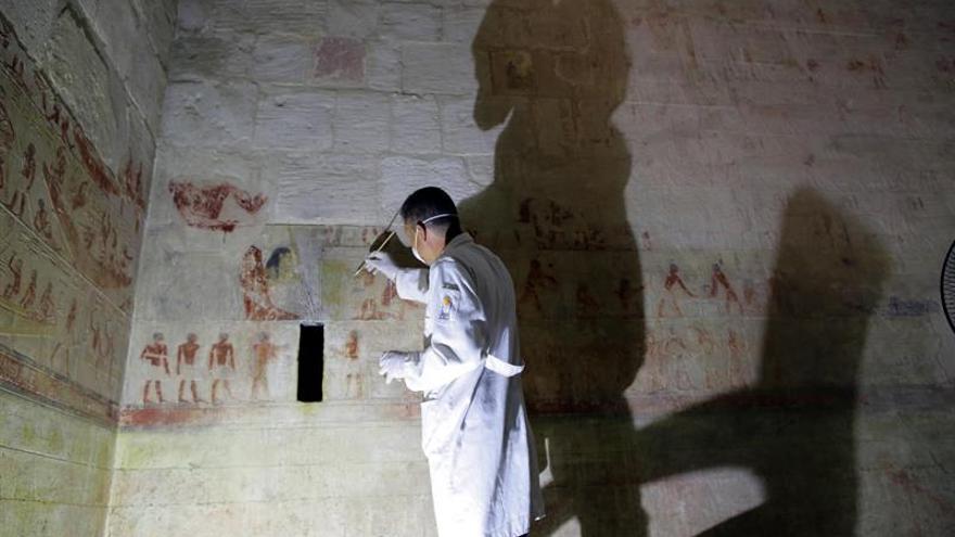 La tumba de un poderoso visir del Antiguo Egipto ve la luz por primera vez