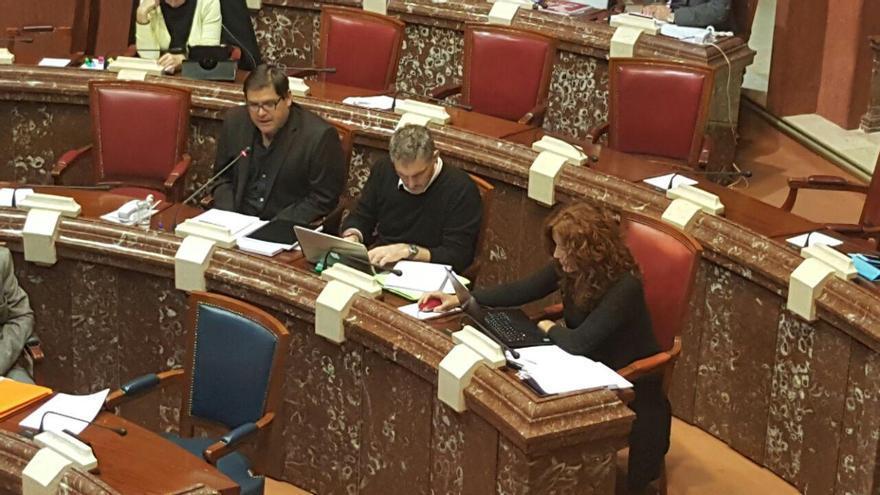 Andrés Pedreño replicando al consejero de Fomento