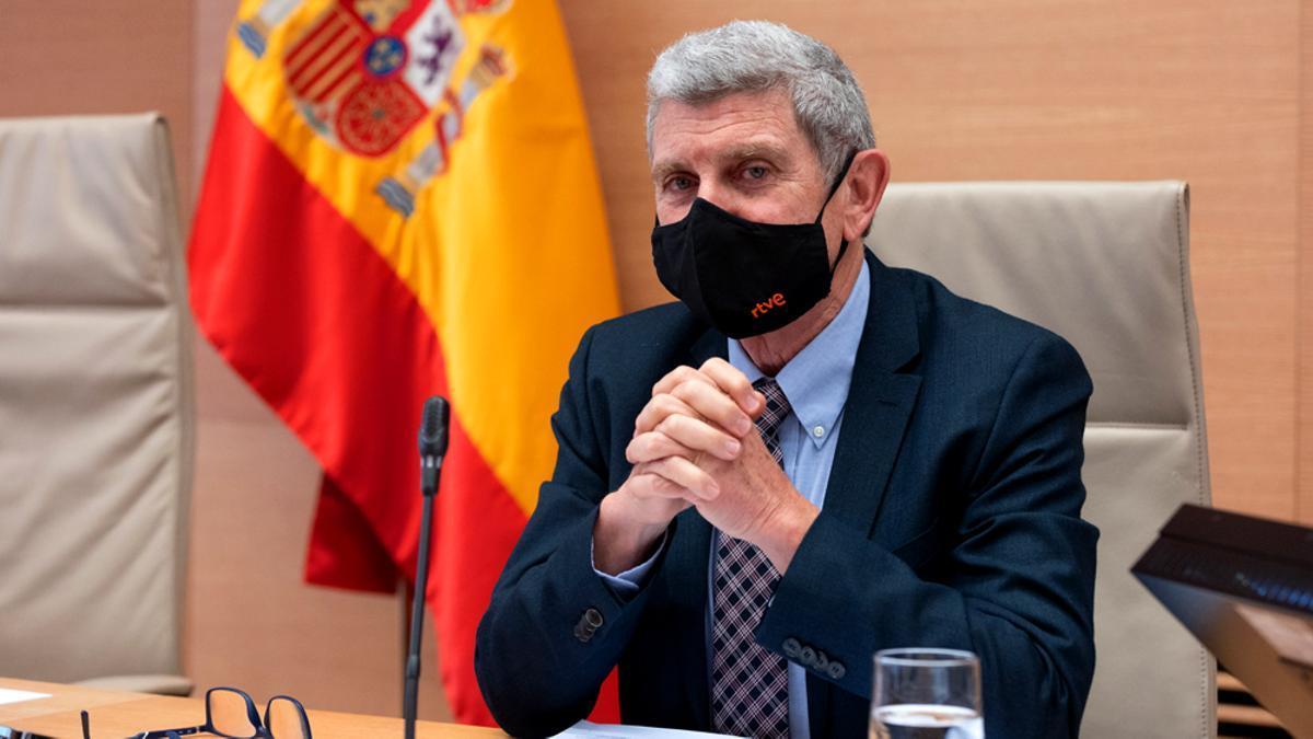 Pérez Tornero, en su primera comparecencia en el Congreso