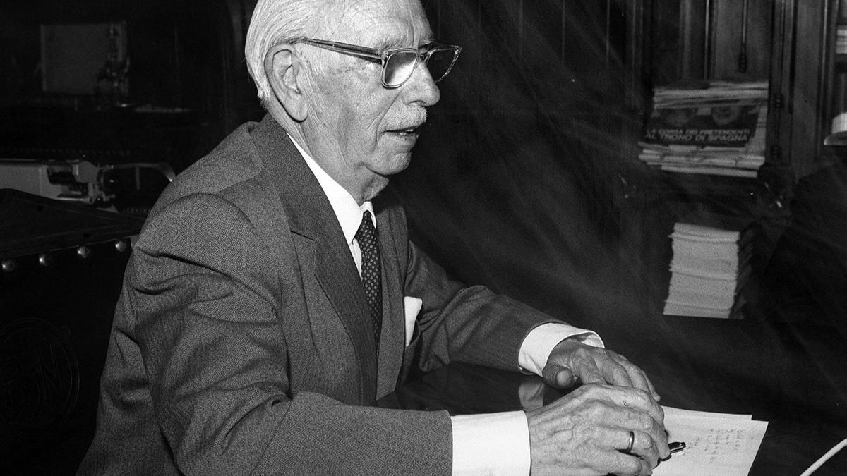 Retrato del escritor y académico, José María Peman. Efe/md/Archivo