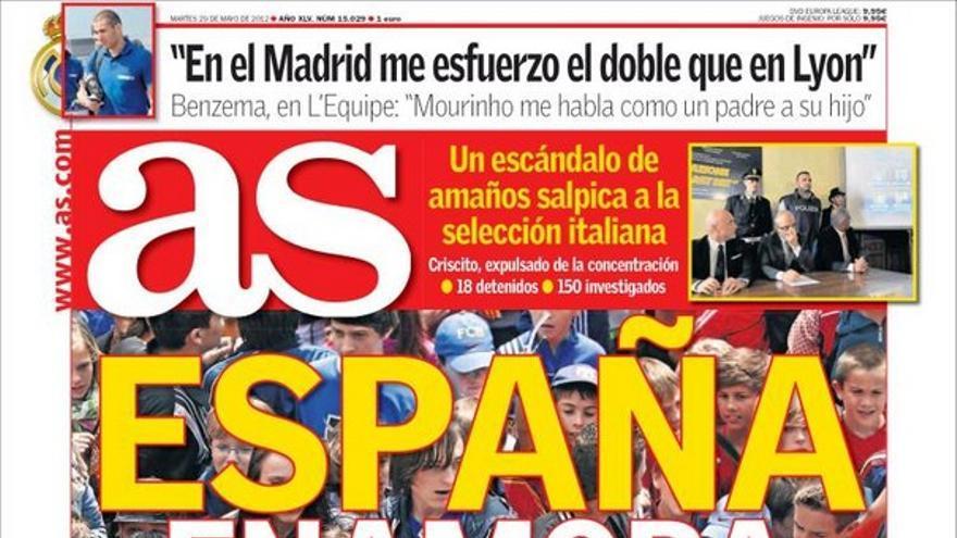 De las portadas del día (29/05/2012) #13