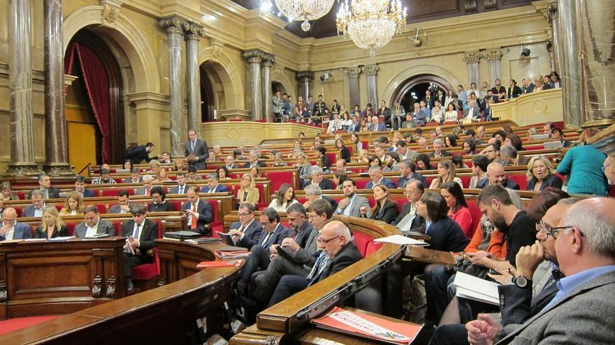 El próximo pleno del Parlament abordará la reforma para agilizar leyes de 'desconexión'