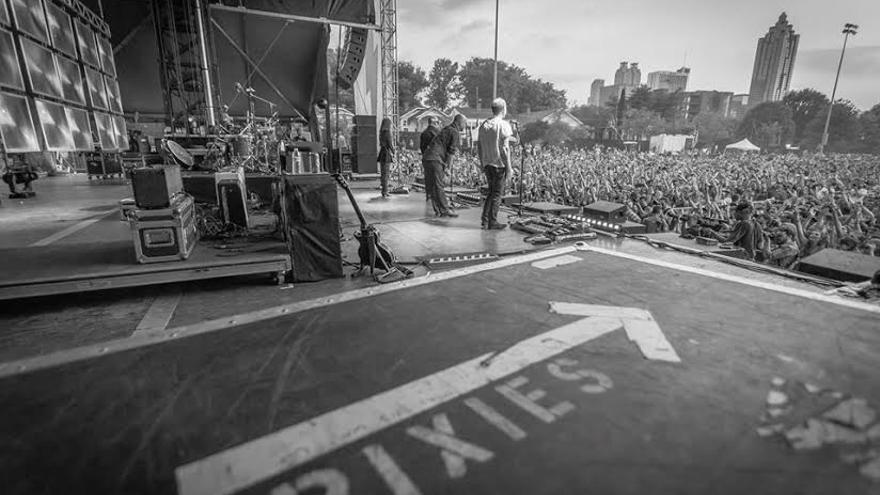Un momento de un concierto de los Pixies.
