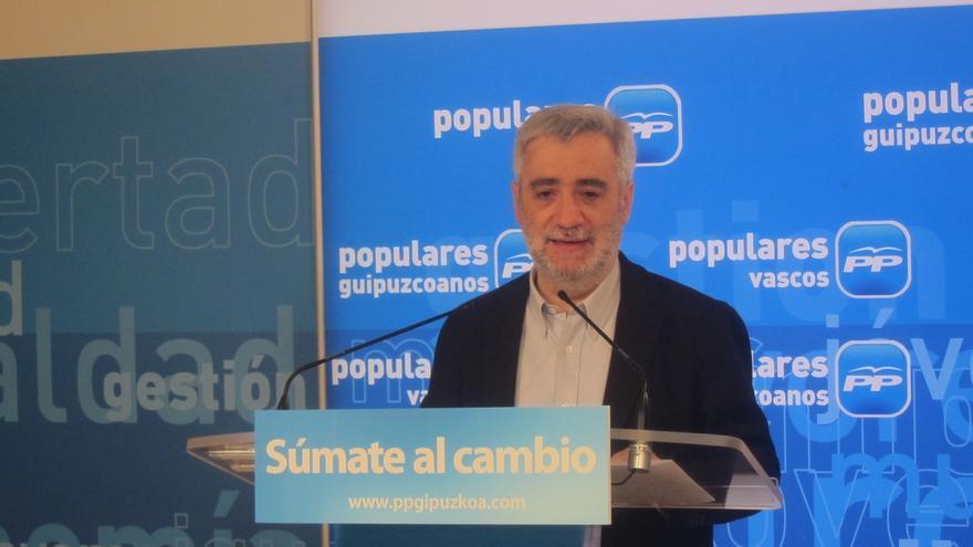 Juan Carlos Cano, candidato del PP a diputado general de Gipuzkoa