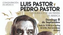 Cartel del evento donde tocarán los Pastor este domingo.
