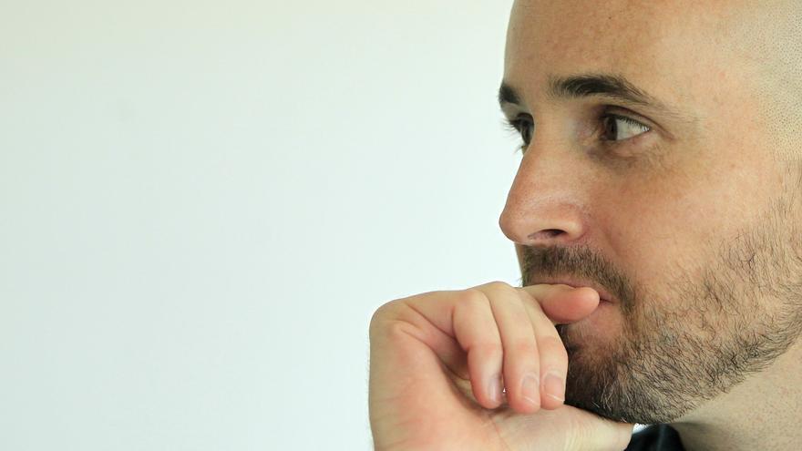 El economista Nacho Álvarez, miembro del Consejo Ciudadano estatal de Podemos. / Marta Jara