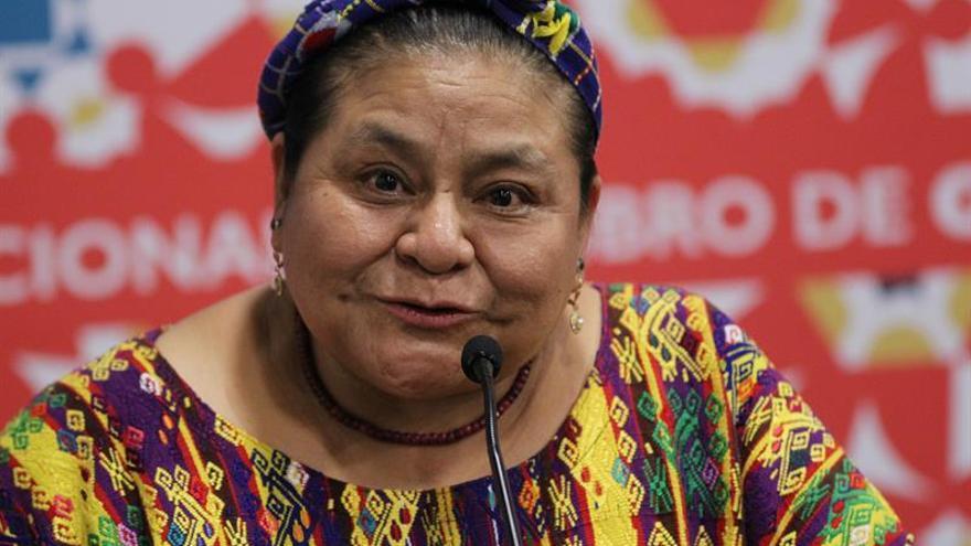 Rigoberta Menchú: Muchos estadounidenses tienen el imperialismo en su ADN