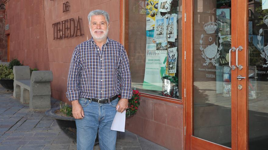 Ezequiel Rodríguez, concejal de Seguridad y Emergencias del Ayuntamiento de Tejeda.