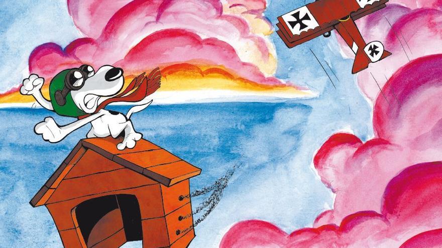 Lucas Turnbloom y su visión de Snoopy
