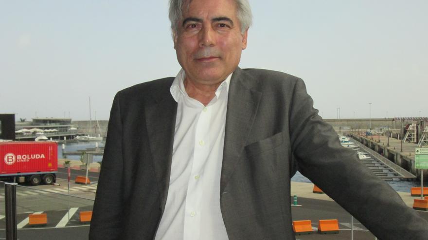 Joaquín Mañoso es decano del Colegio de Arquitectos de Canarias. Foto: LUZ RODRÍGUEZ