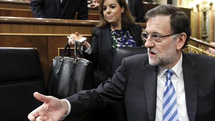 Rajoy niega que la ley de seguridad ciudadana sea una mordaza a los españoles