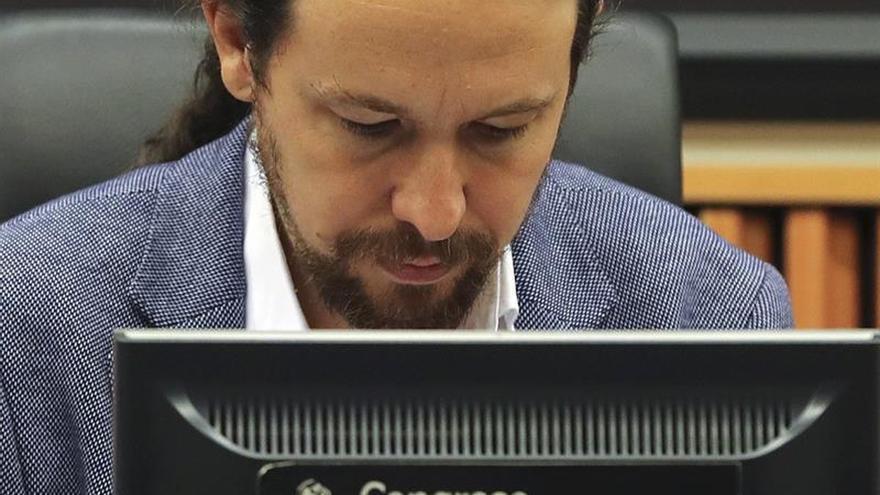 """Iglesias critica que se hable de """"sedición"""" mientras se blanquea corrupción"""