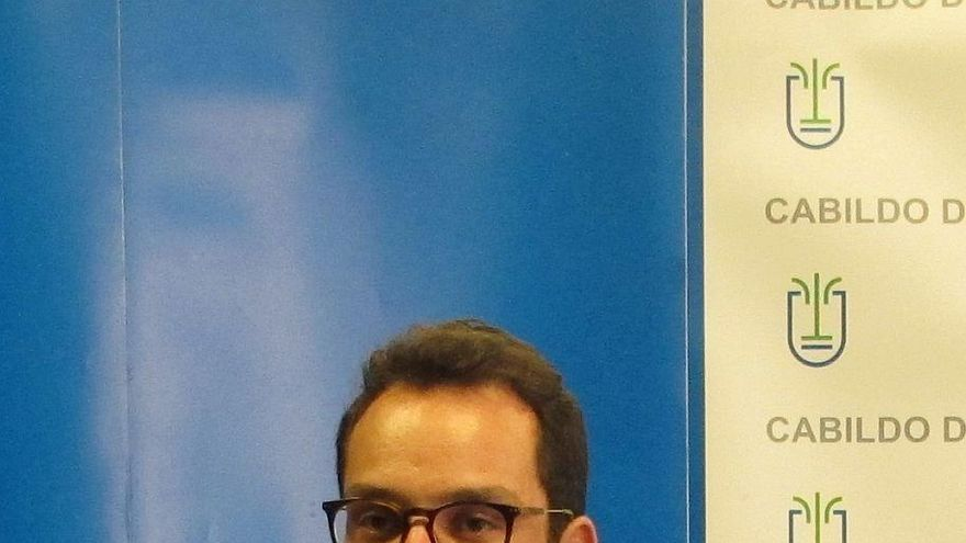 Jordi Pérez Camacho, consejero de Empleo del Cabildo de La Palma.