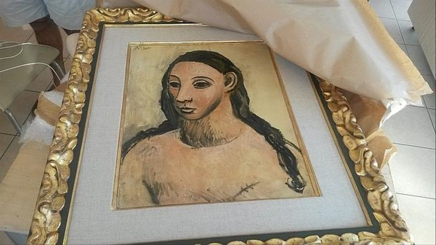 Head of a young woman, Pablo Picasso Foto: AFP