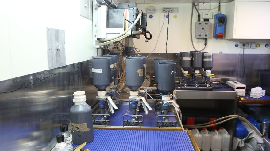 Laboratorios del buque 'Alliance' (ALEJANDRO RAMOS)