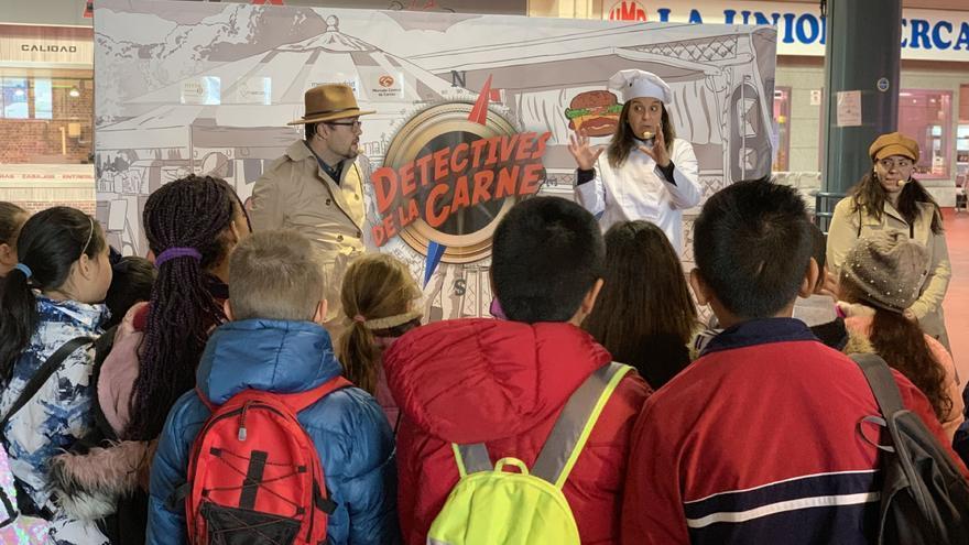 Actividad para escolares de Primaria organizada por la empresa Provacuno, integrante de la plataforma del lobby cárnico Carne y Salud