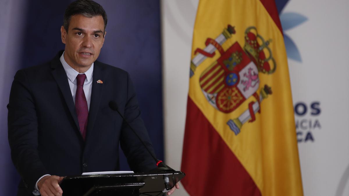 El presidente del Gobierno español, Pedro Sánchez. EFE/ Bienvenido Velasco/Archivo