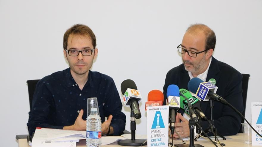 Un moment de la presentació dels Premis Ciutat d'Alzira