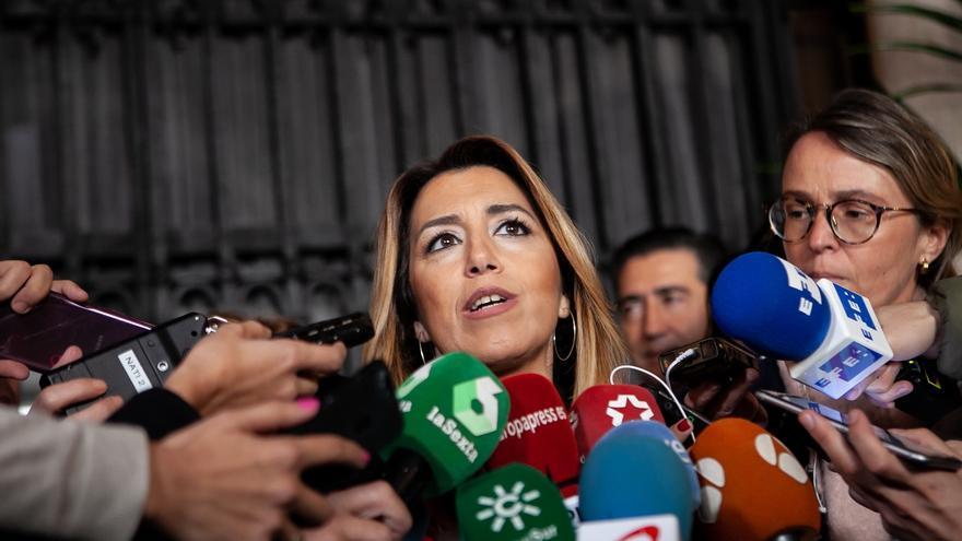 """Susana Díaz ofrece gran pacto a los partidos para aparcar """"crispación e insulto"""" y centrarnos en hablar de Andalucía"""