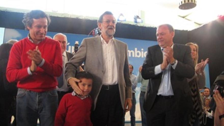 Floriano, Rajoy Y Monago En Badajoz